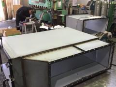 ダクト製作 ボンデ板